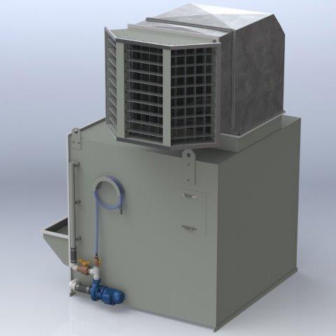 Caixa de ventilação