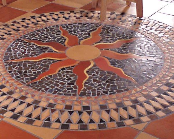 Cerâmica rústica área externa