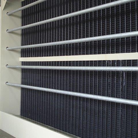 Eliminador de gotas para torre de resfriamento