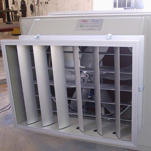 Equipamento de ventilação industrial