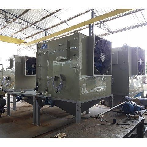 Fábrica de climatizadores evaporativos