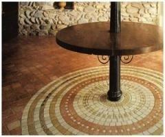 Pastilha mosaico de mármore