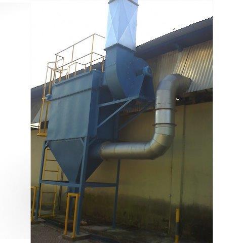 Sistema de exaustão e ventilação