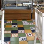 Pisos e revestimentos patchwork
